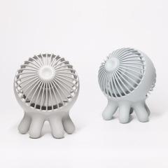 创意章鱼迷你USB风扇 静音桌面小风扇定制 个性创意礼品