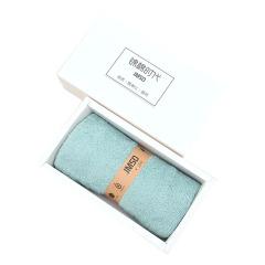 【白色盒子】珊瑚绒超细纤维材质 单条毛巾礼盒装  舒适面料强劲吸水 物业送小礼品