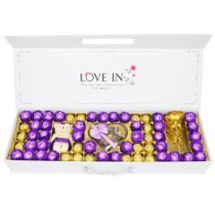 【京東伙伴計劃—僅限積分兌換】好時巧克力禮盒裝情人節生日禮物送女友