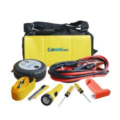 车管家 包车用急救包应急包充气泵安全锤车辆维修工具包 汽车礼品
