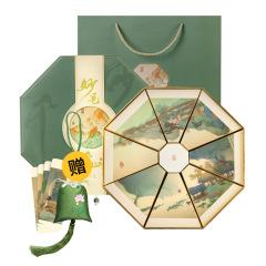 妙筆千山·端午粽子禮盒 妙筆書簽+荷花香囊+嚴選粽子組合套裝 2019端午限定禮盒