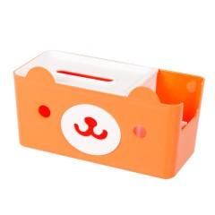 创意多用纸巾盒杂物收纳盒 可爱卡通熊抽纸盒 礼品有哪些 20元奖品