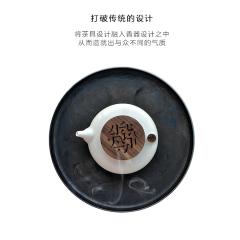 一壶清香 茶道仿古家用陶瓷熏香炉 居家装饰摆件