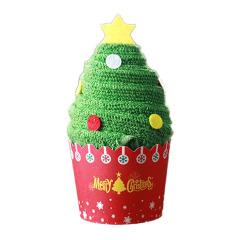 【圣诞树】创意圣诞节礼物纯棉毛巾圣诞树造型 圣诞节小礼品推荐