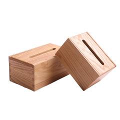 红橡燕尾榫实木抽纸盒 简约设计 展会小礼品