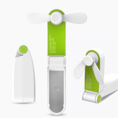 口袋折叠小风扇 手持桌面摆放迷你安全风扇   营销办公室礼品