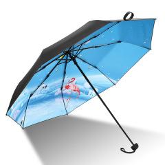 天堂伞 春夏秋冬四季风景晴雨伞 折叠轻便小清新太阳伞 优秀员工奖励什么礼品