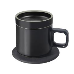 【及上】無線充保溫杯 黑科技創意保溫杯墊陶瓷杯 多功能無線充保暖杯 秋冬暖心禮品