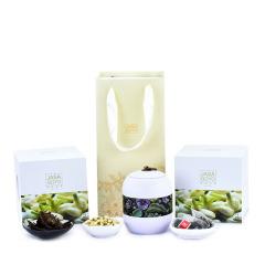 简尚|茉莉金茯 金花茯茶+茉莉花礼盒套装 商务场合适合送什么礼物