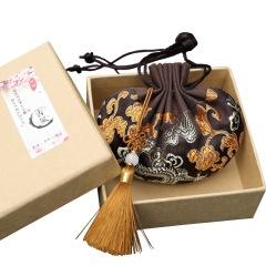中國風宮廷香囊 錦緞古風艾草香包 香薰束口袋禮盒