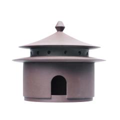宫 紫砂复古香炉 盘香炉檀香 纪念礼品
