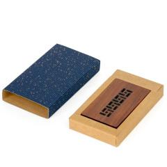 【免費激光定制】風車紋紅木名片夾 非洲酸枝 中國風紅木名片盒創意禮品 定制刻字名片夾