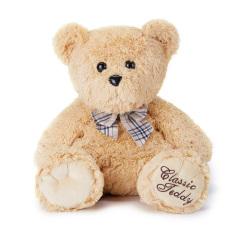 外交官(Diplomat)可爱短毛绒泰迪熊防走失背包 精典泰迪熊毛绒大公仔 送给小朋友的贴心礼物