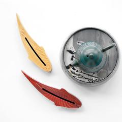 鱼乐年年有鱼檀香香插线香炉 卧香盒茶道摆件香薰炉