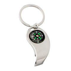指南针开瓶器钥匙扣  创意设计 家居礼品