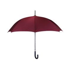 高端商务长柄伞 稳重时尚进口提花格子随身雨伞