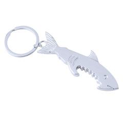 金属鲨鱼开瓶器钥匙扣 创意设计 礼品定制