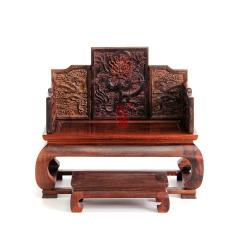 【清式九龙宝座】微缩家居艺术品 家居装饰 办公桌面摆件
