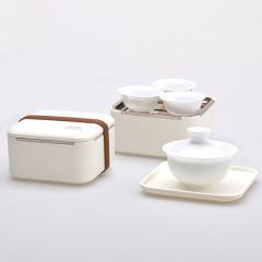 掌中茶具 创意超便携小巧功夫茶具套装 创意旅行茶具套装