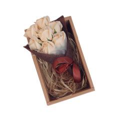 精裝7朵皂花禮盒 情人節禮物 3.8創意禮品