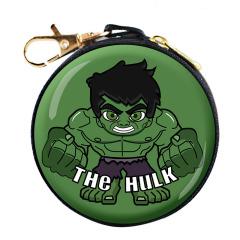 【綠巨人】威漫系列卡通數據線耳機收納包 圓形馬口鐵 周邊小禮品