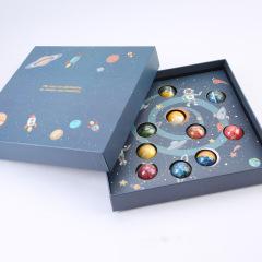 手工星空十二行星巧克力大盒套装 抖音礼物 创意礼品