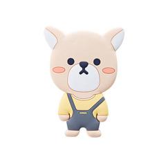 【顽皮狗】可爱卡通动物化妆镜 PVC软胶随身镜 mini萌物镜子 展会礼品 促销活动礼品