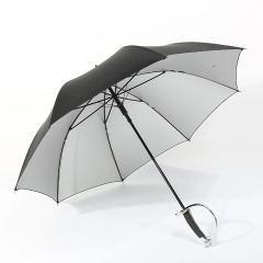 创意西洋击剑晴雨两用直柄伞商务长柄直杆伞广告logo定制 创意礼品