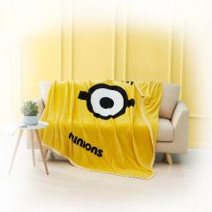 神偷奶爸小黄人时尚绒毯 夏天薄款柔软盖毯空调毯 员工福利礼品