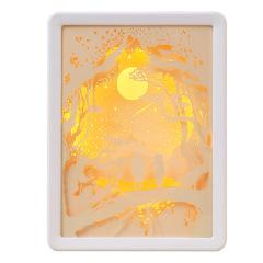 【执子之手】创意奇特实用  床头装饰台灯纸雕灯  桌面摆件