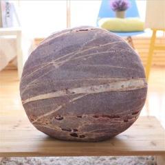 【款式F】创意圆形石头抱枕 玩具沙发抱枕 羽绒棉填充 创意礼品建议