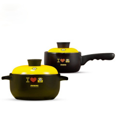 神偷奶爸小黄人 陶瓷耐热锅具两件套 展会礼品定制