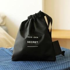 黑白系列防水旅行收纳袋 私密用品袋 secret pouch