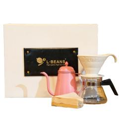 LBEANS手冲咖啡壶杯礼盒套装 企业学术会议礼品