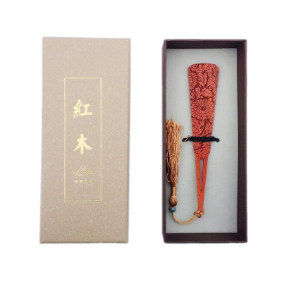 【一支书签】古典菊花红木精致获奖外事礼品室内装修设计设计图图片