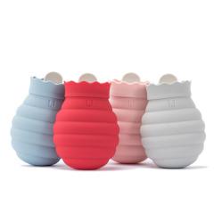 趣味蜜罐暖水袋可微波高颜值热水袋冷热两用 冬天小礼品