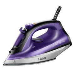 海尔(Haier) 家用便携式强劲蒸汽电熨斗 手持熨烫机  小家电礼品