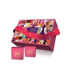 【璀璨巴黎】法式月餅*14 流心奶黃蜜戀荔枝玫瑰乳酪榛子巧克力蜜瓜藍莓套裝 中秋禮品方案