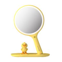 FASCIANTE(斐色耐)DongDuck小黄鸭联名定制款无线充美妆镜手机支架化妆镜 女员工礼品