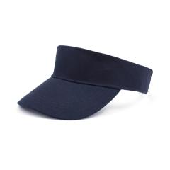 100%棉空顶帽 男女同款广告帽遮阳帽 可定制logo