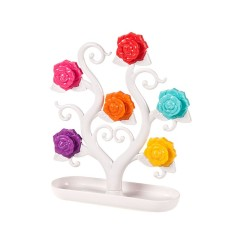 创意浪漫玫瑰树冰箱贴 桌面办公留言贴
