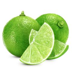 【京東伙伴計劃—僅限積分兌換】越南品種 云南無籽青檸檬3斤裝 家庭裝 18-25個左右