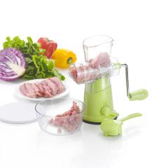 家用手动绞肉机厨房碎菜剁肉末神器饺子馅搅拌器 拜访业主送什么礼品