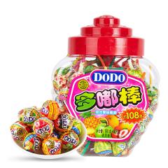 【京东伙伴计划—仅限积分兑换】徐福记 DODO棒棒糖1026g108支