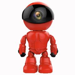烈火战警 智能监控机器人 360°可旋转手机APP操作摄像机 家具商城活动礼品