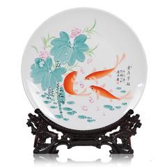 硕果累累文化纪念礼品陶瓷挂盘