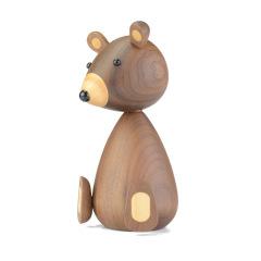 【小笨熊木质工艺品】创意造型 展会小礼品 桌面摆件