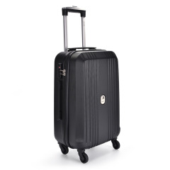 DELSEY法国大使 20寸万向轮旅行箱 经典线条男女登机箱  趣味活动奖品 大客户礼品