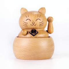 【招財貓音樂盒】活動紀念品 促銷小禮品 桌面擺件