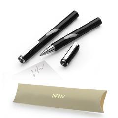 【NANV】簡約經典羽毛圖案寶珠筆 活動贈禮